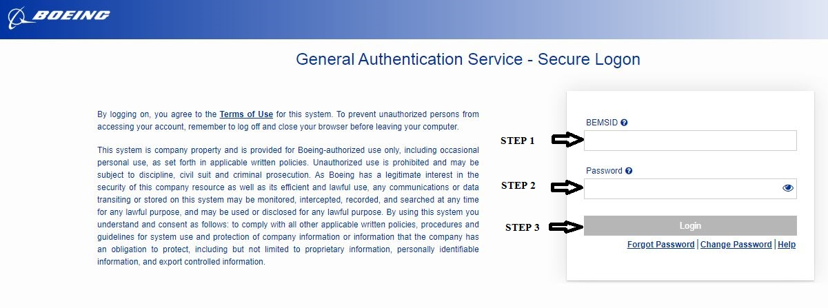 Boeing Total Access Login