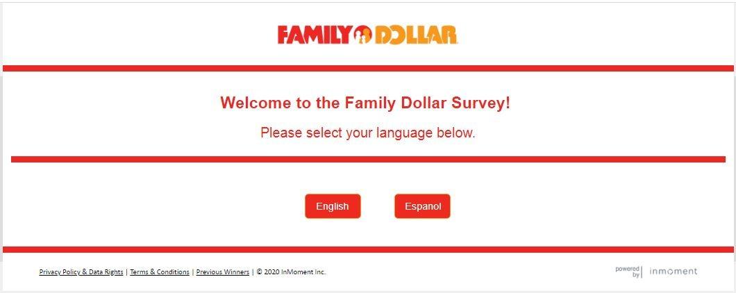 Family Dollar online Survey