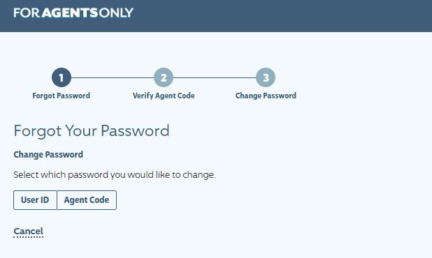 ForAgentsOnly login forgot password 2