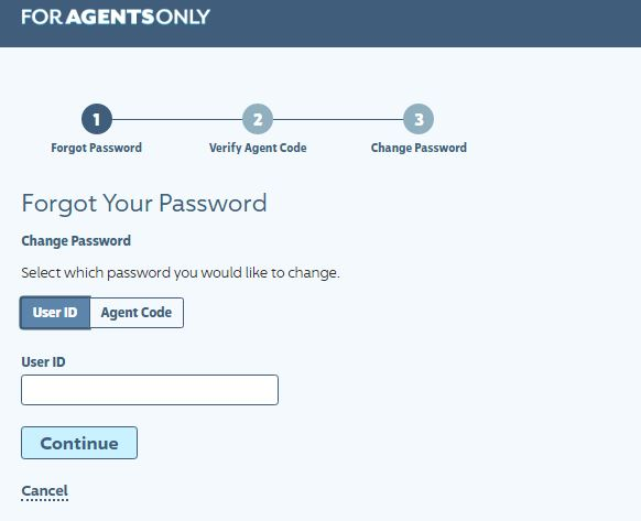 ForAgentsOnly login forgot password 3