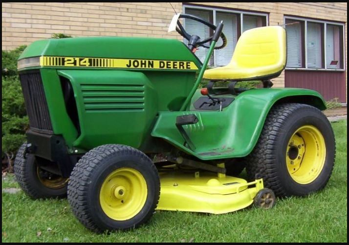 John Deere 214 Price, Specs, Reviews & Attachments