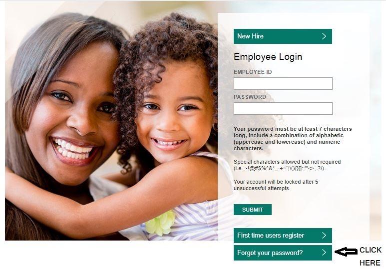 Mynorthsidehr login forgot password step 1