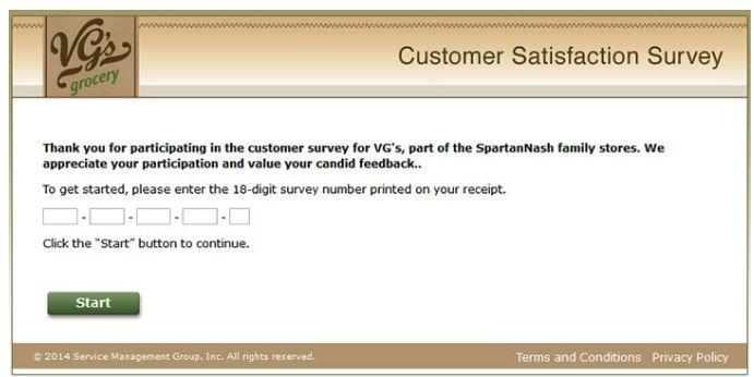 VG's survey start