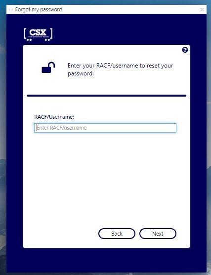 CSX Gateway Login