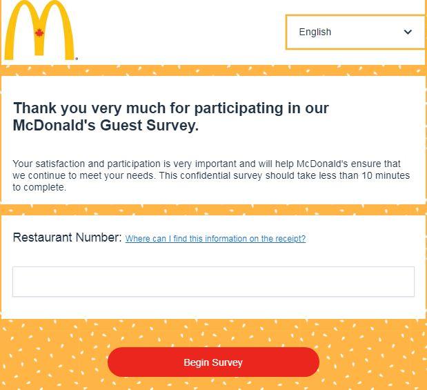 www.Mcdonalds-survey.ca