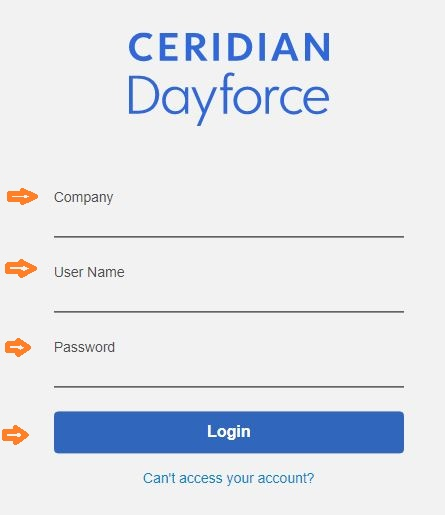 Ceridian Dayforce Login
