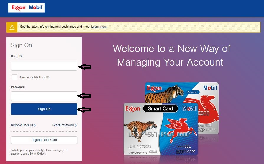 Exxonmobil Account Online Login