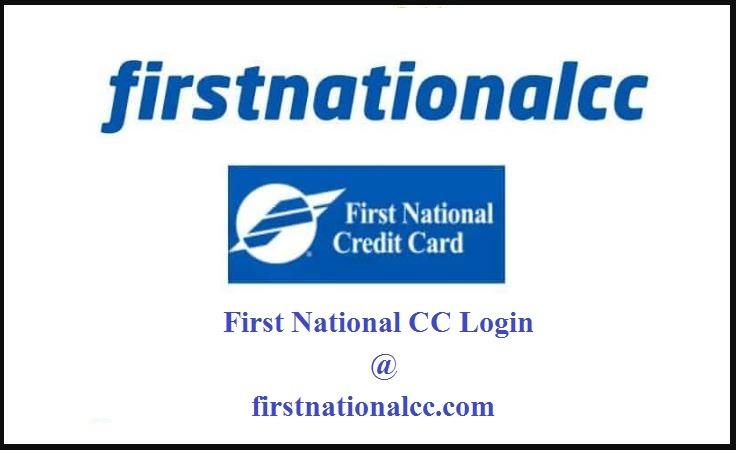 Firstnationalcc login page