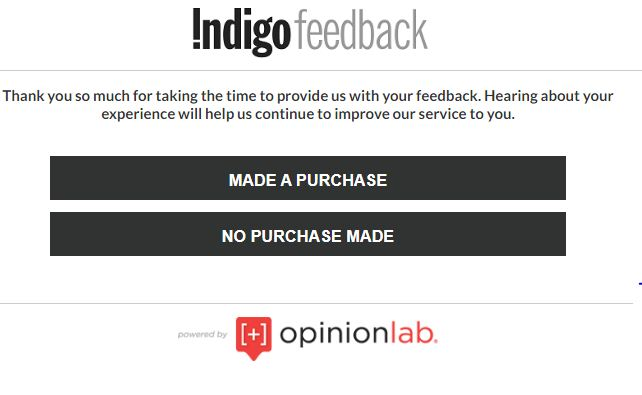 Indigo Guest Survey