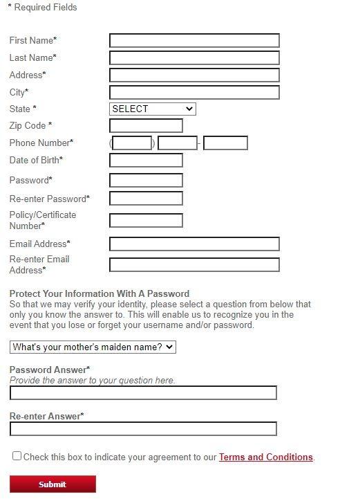 Insuranceservicenow register 2