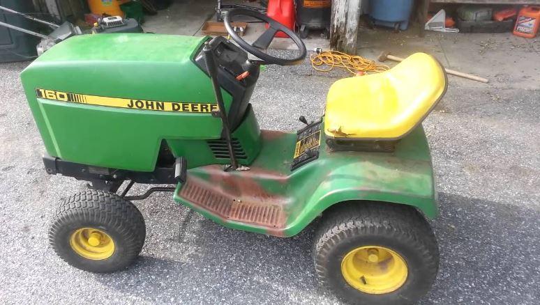 John Deere 160 price