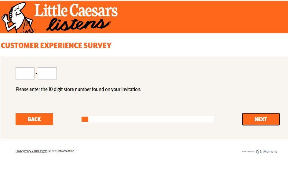 Little Caesar'sCustomer Experience Survey