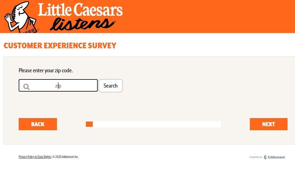 Little Caesar'sOpinion Survey