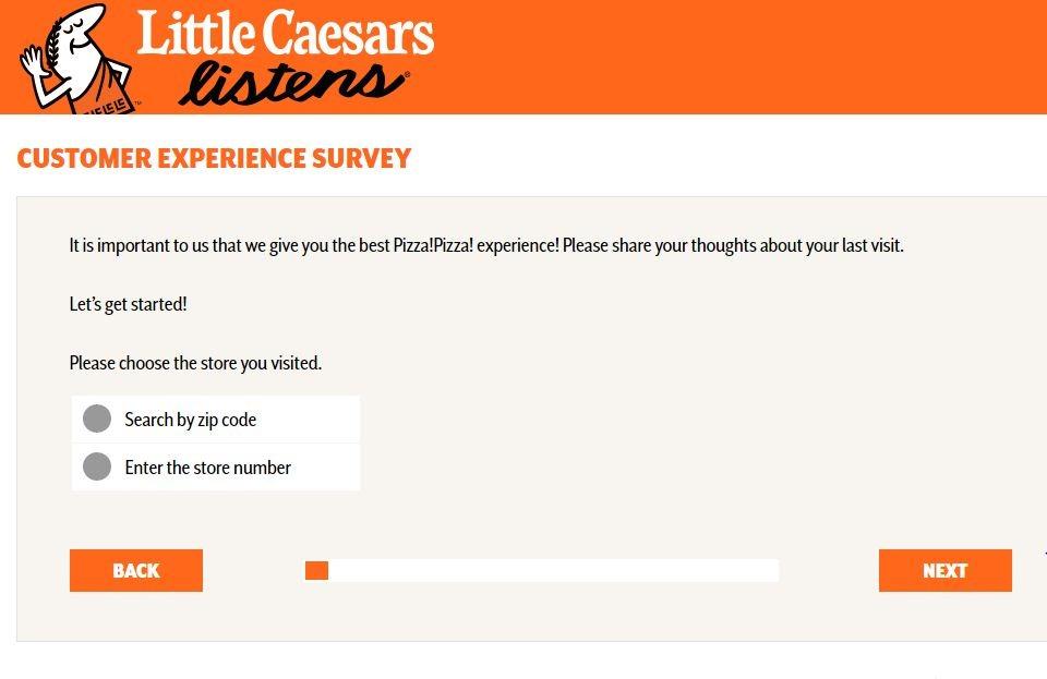 Little Caesar'sSatisfaction Survey