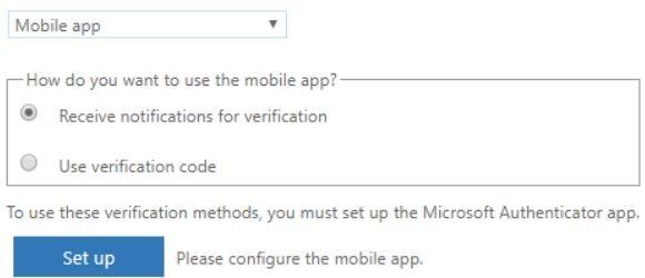 Multi-Factor Authentication Through Mobile App Push