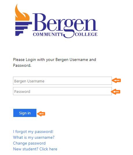 My Bergen login