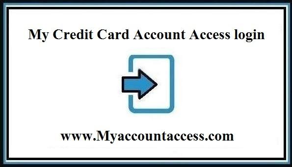 MyaccountAccess Login - My Credit Card Account Access login