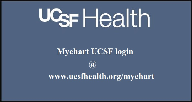 Mychart UCSF sign in