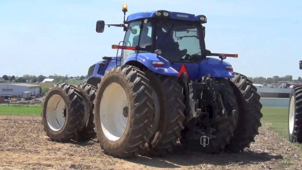 New Holland T8 Series Tire 4B Hydraulics system