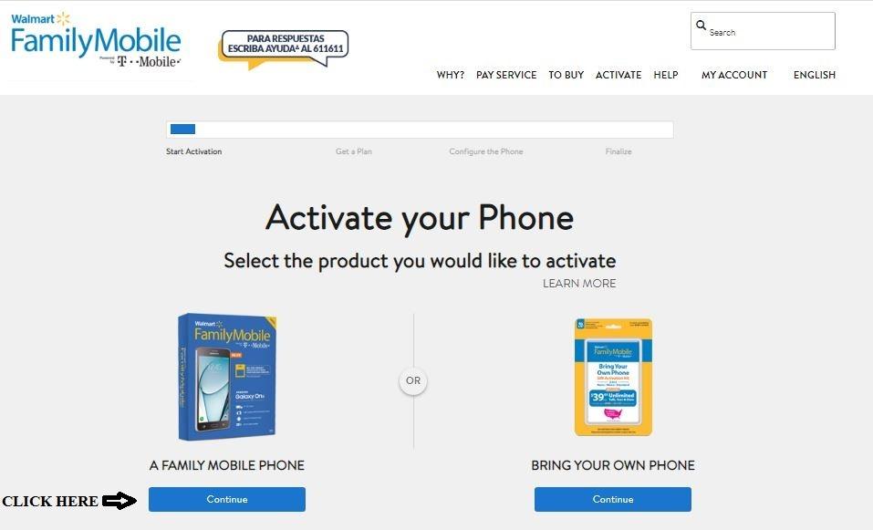 Walmart Family Mobile Login 1