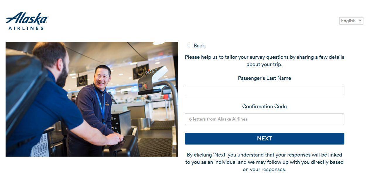 Alaska AirlinesFeedback Survey