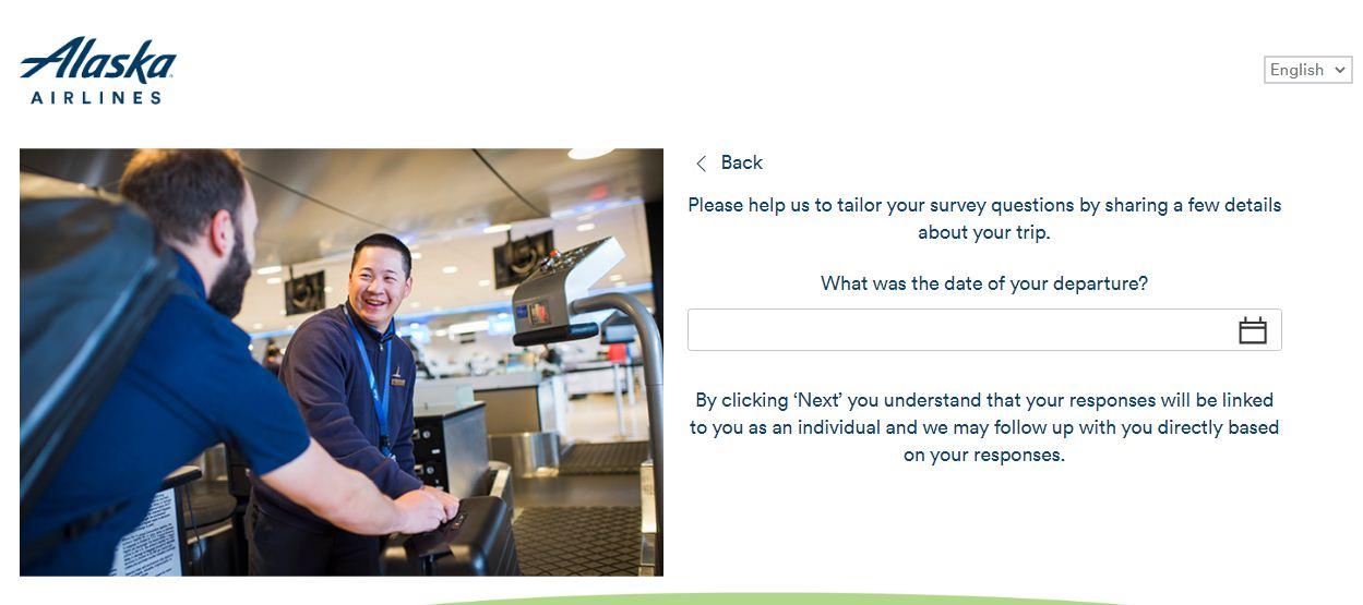 Alaska AirlinesGuest Experience Survey