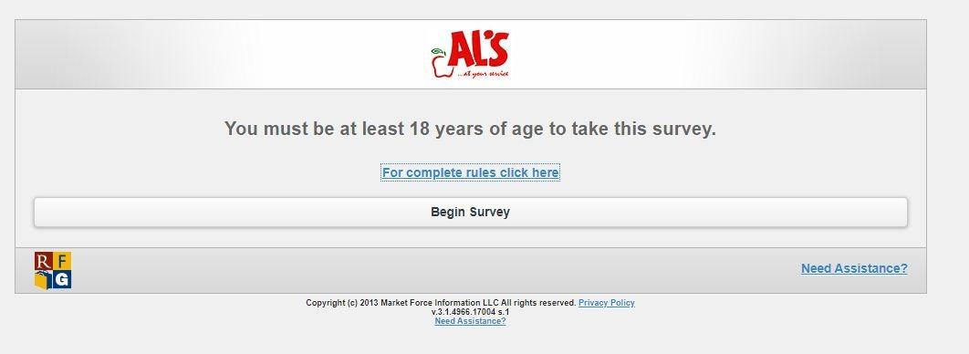 Al'sSatisfaction Survey