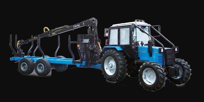 BELARUS MPT-461.1 Load-haul-dump forestry vehicle Info.