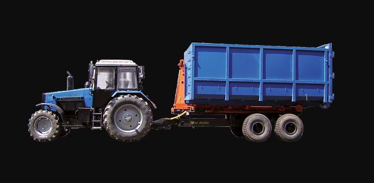 BELARUS PK-12 Semi-trailer Container Specs Price & Features