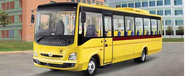 Bharat benz school bus 3