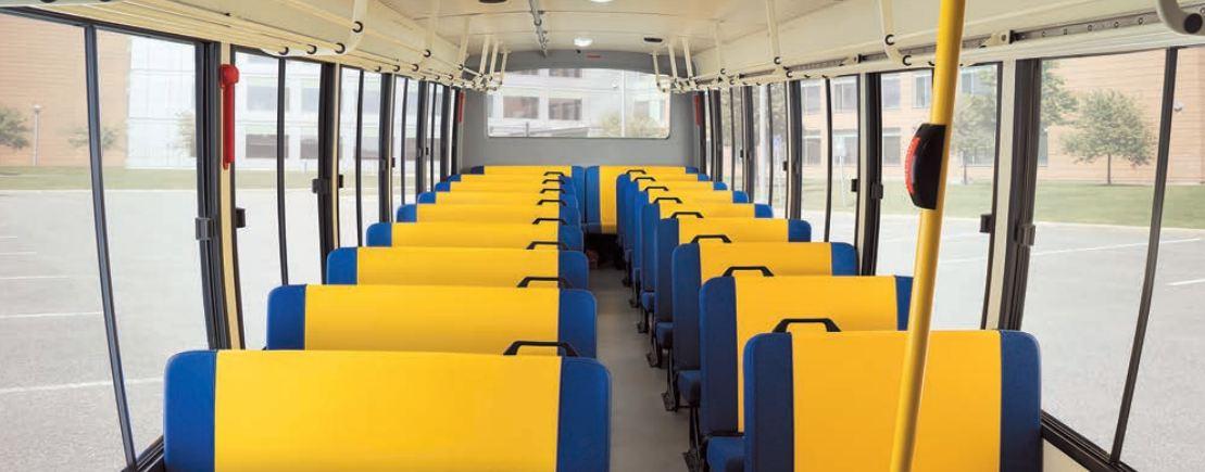 Bharat benz school bus comfort