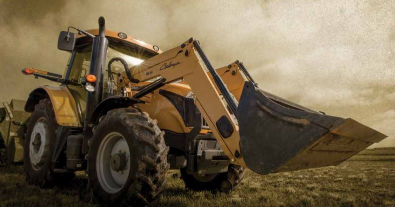 Challenger MT465D Utility Tractor