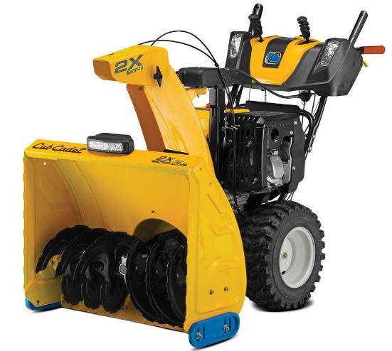 Cub Cadet 2X 30 EFI Two Stage Snow Blower with IntelliPower specs