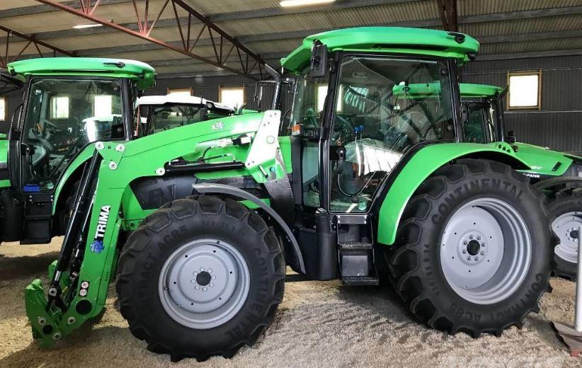 DEUTZ-FAHR 5090.4G Tractor specs