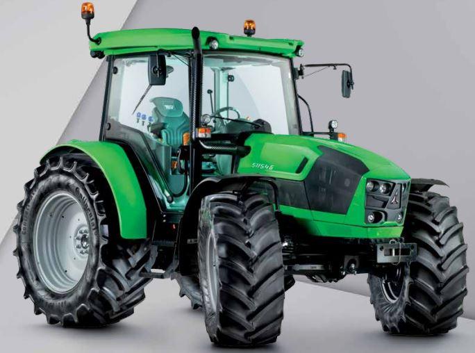 DEUTZ-FAHR 5G Series 5115.4G HD Tractor Informations