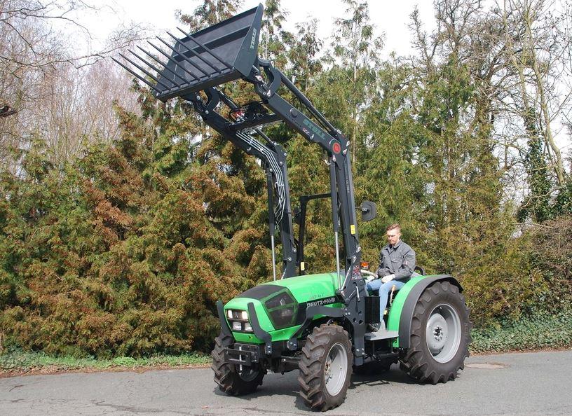 DEUTZ-FAHR Agroplus 80.4F Keyline Mini Tractor Price & Specs