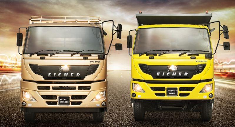 Eicher Pro 6000 series Truck