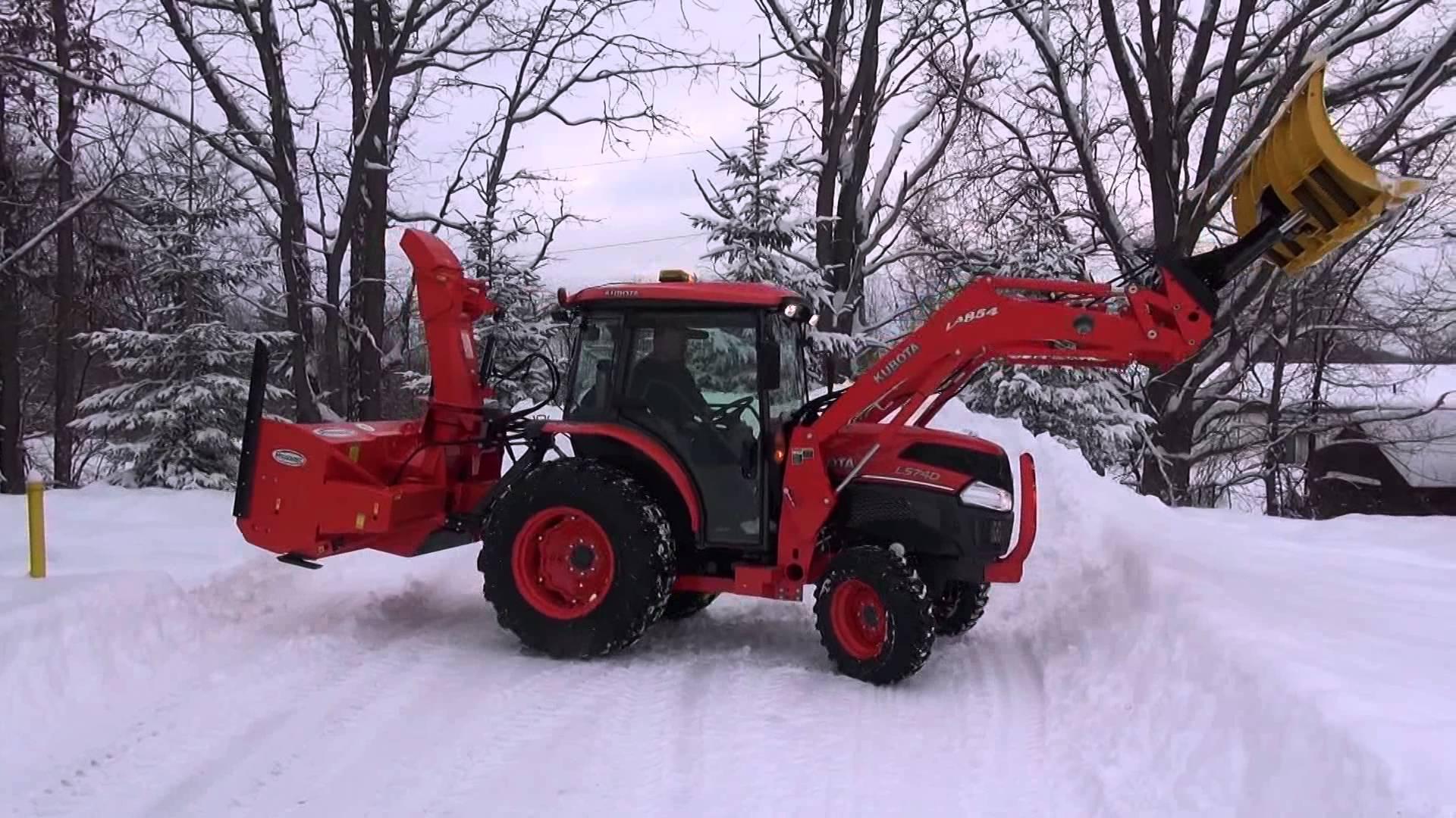 Front loader Of kubota L5740 tractor