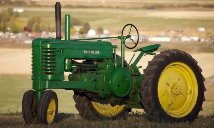 John Deer Model A Tractor