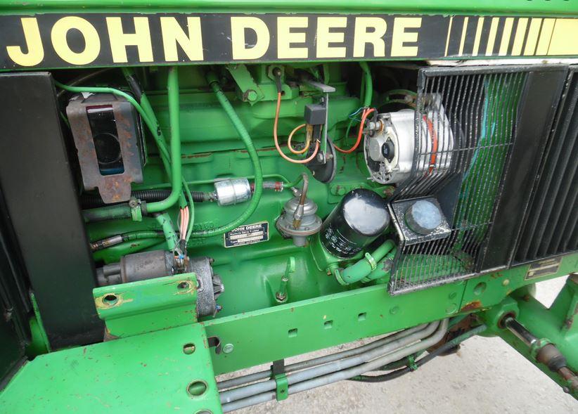 John Deere 2850 engine specs