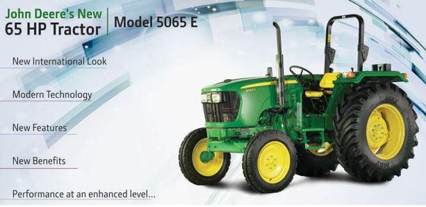 John Deere 5065 E 65 HP Tractor transmission