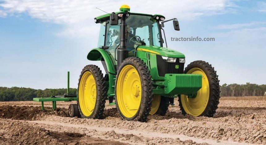 John Deere 5115RH High-Crop Tractor For Sale Price Specs Review