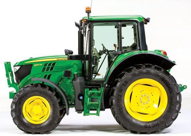 John Deere 6130M Low Profile Tractors