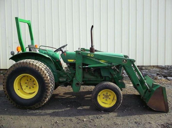 John Deere 950 Tractor Attachments