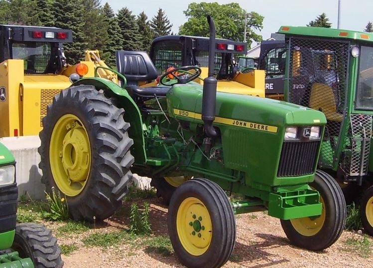 John Deere 950 Tractor Price