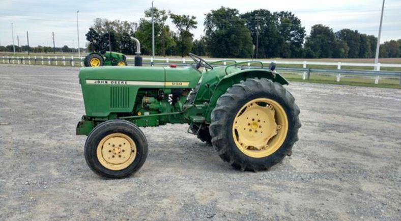 John Deere 950 Tractor Specifications