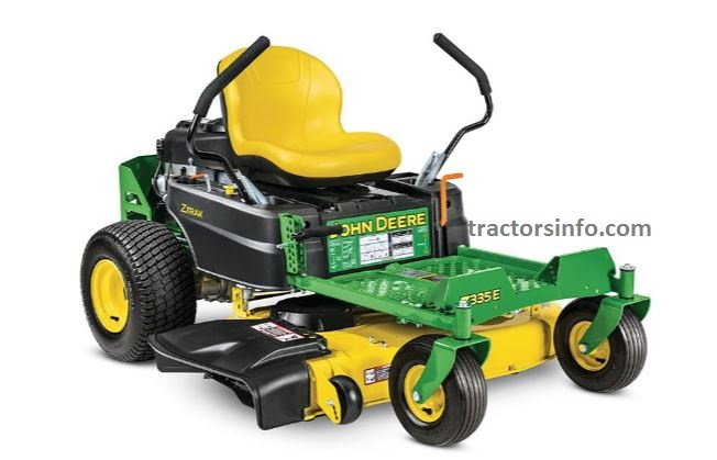 John Deere Z335E ZTrak™ Mower with 42-in. Deck For Sale Price, Specs, Review, Overview