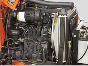 Kubota B2320 Engine