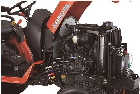 Kubota-BX2670-Engine