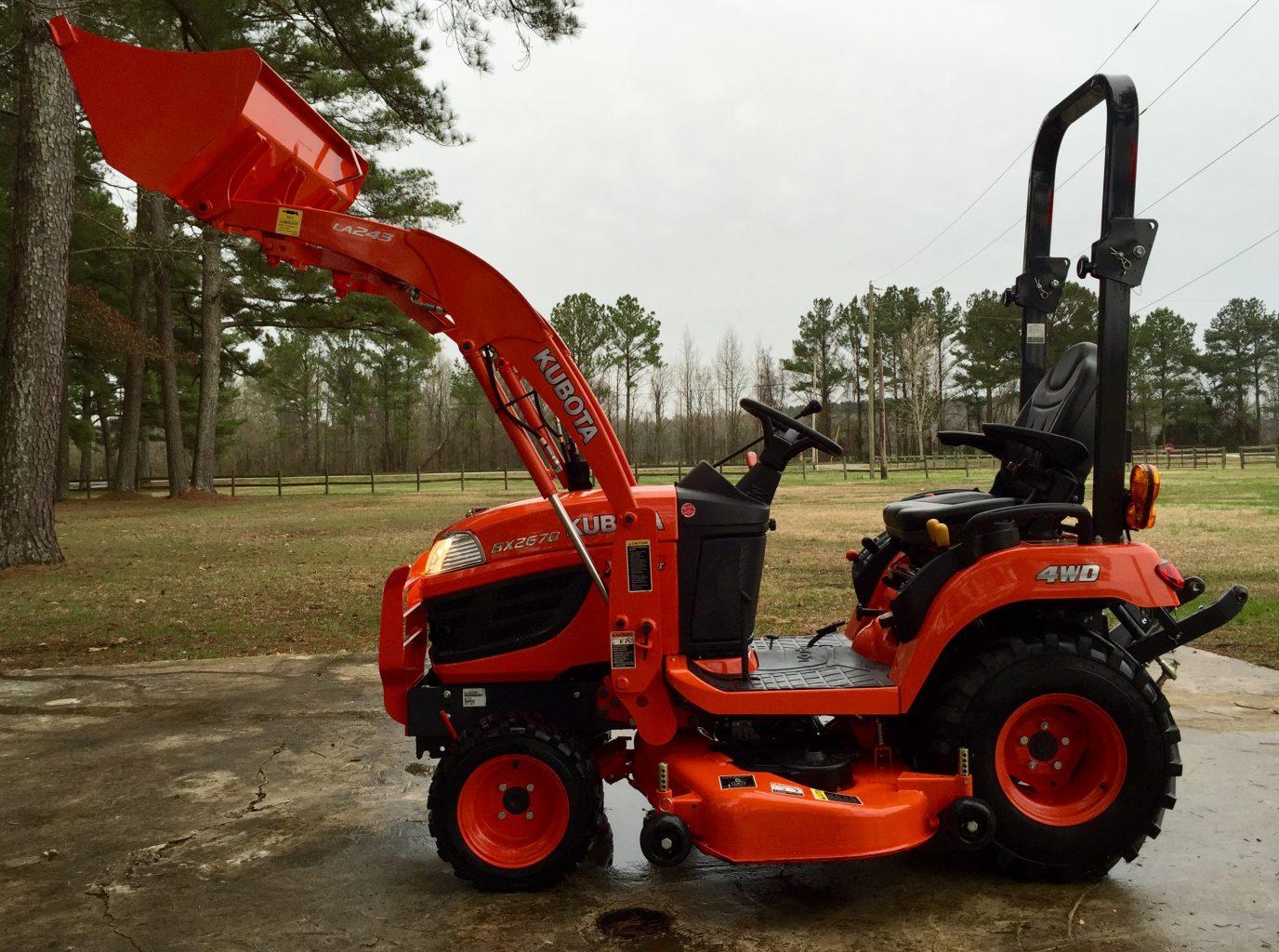 Kubota BX2670 Tractor Hydraulic System